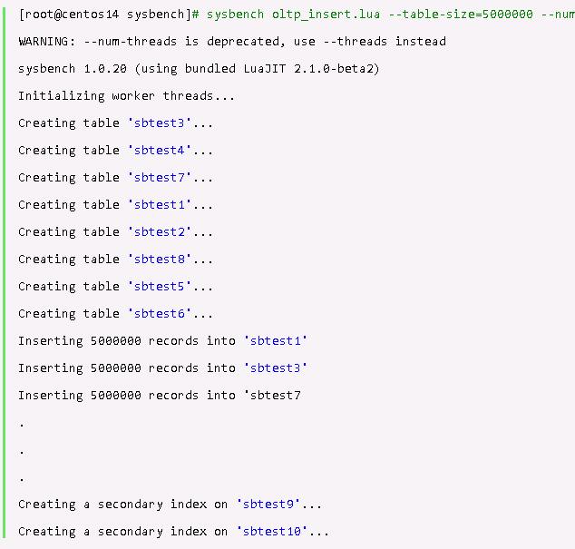 MySQL Shell速度测试